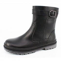 ботинки мальчиковые нат.мех
